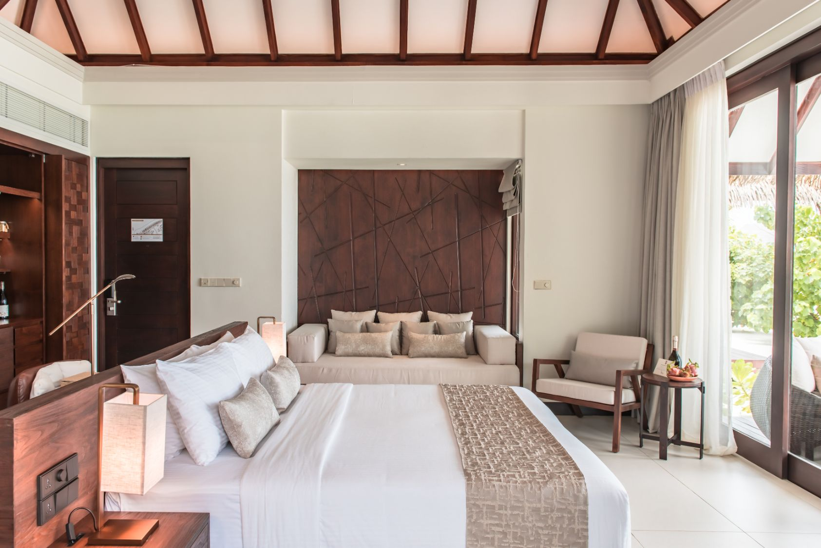 Interior of Beach Villas at Heritance Aarah