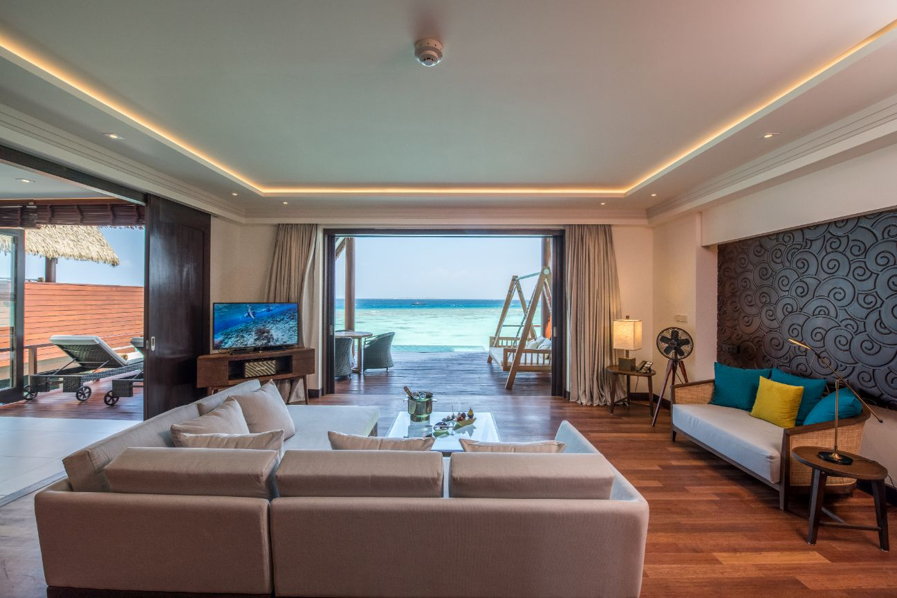 Interior of Ocean Suite at Heritance Aarah