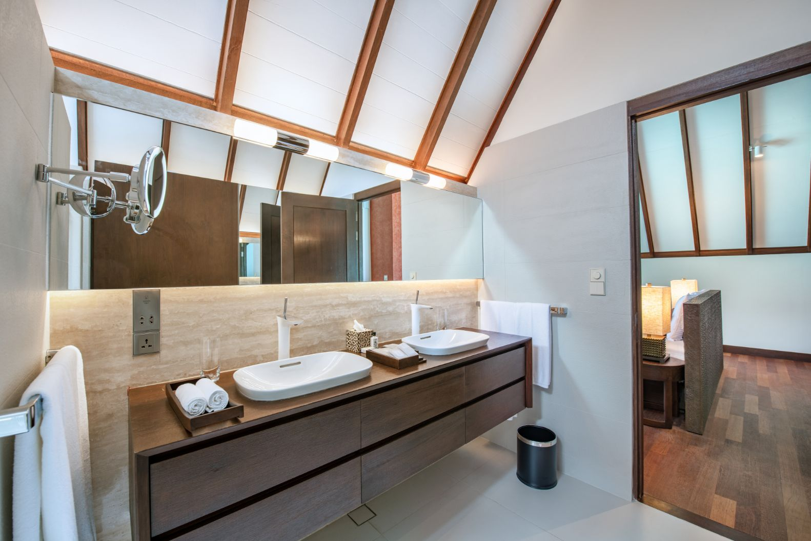 Interior of Ocean Suite Bathroom