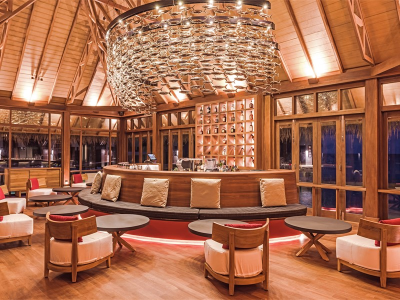 Interior of Falhu Bar at Heritance Aarah