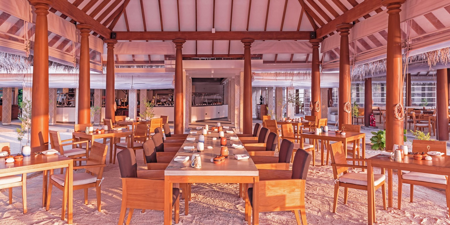 Ranba Restaurant at Heritance Aarah