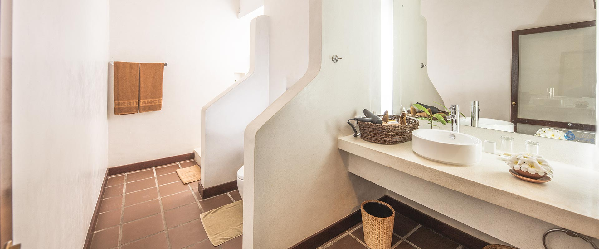 Heritance Ayurveda Bathroom Interior