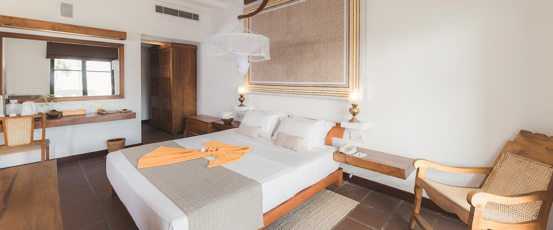 Heritance Ayurveda Accommodation Interior