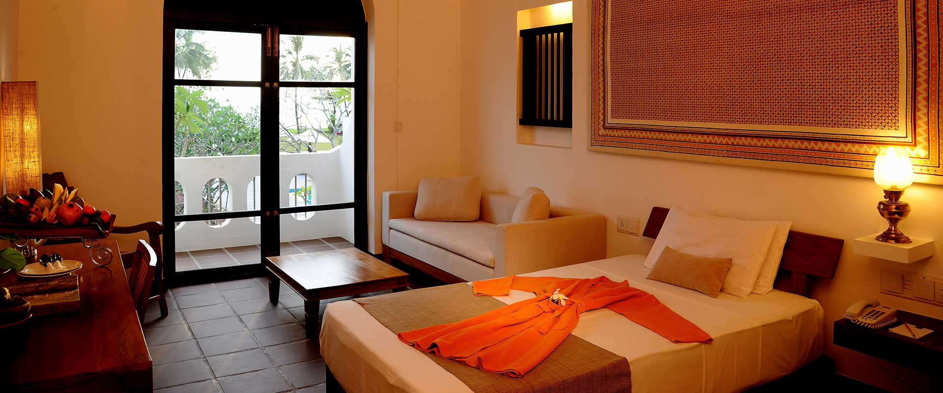 Interior of Classic Room at Heritance Ayurveda