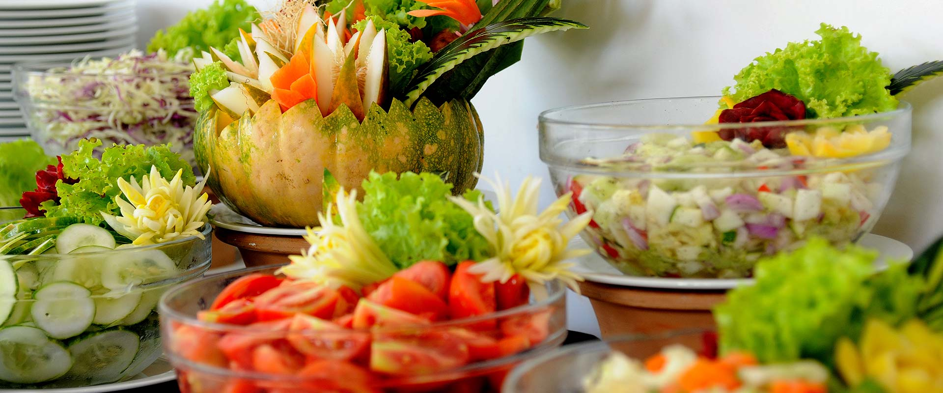 Vegetable Salads at Heritance Ayurveda