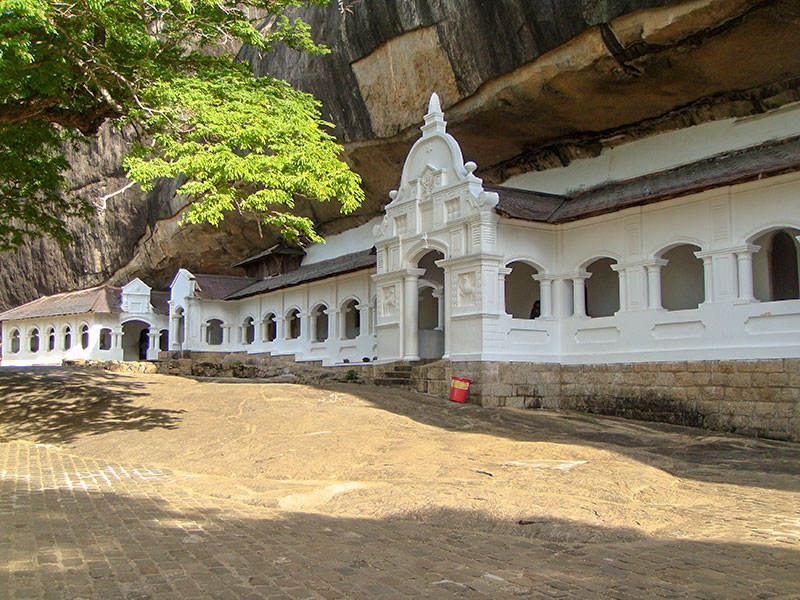 Dambulla Rock Cave Temple, Sri Lanka