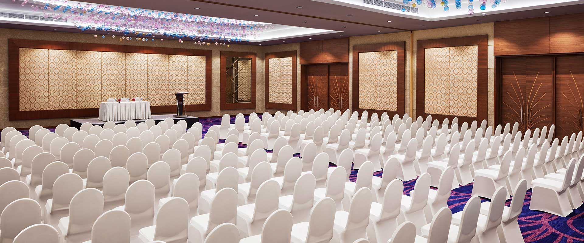 Conference Chair Setting at Heritance Negombo